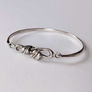 Jewelry - Sterling Bracelet Vine Leaf Made in Sheffield UK